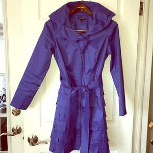 Samuel Dong Coat-dress Periwinkle Sz Small